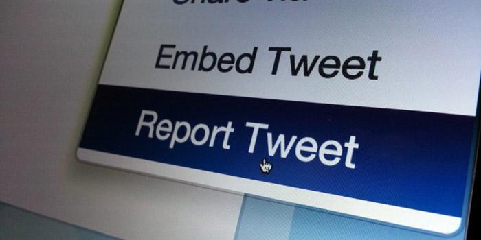 ریپورت در توییتر (Twitter)