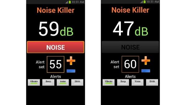 دانلود نرم افزار نویزگیر صدا برای اندروید Noise Killer