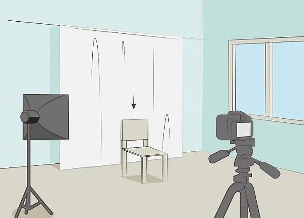 مدل عکاسی در خانه