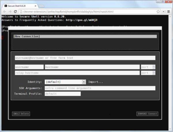 فعال سازی SSH در ویندوز با نرم افزار Google Chrome