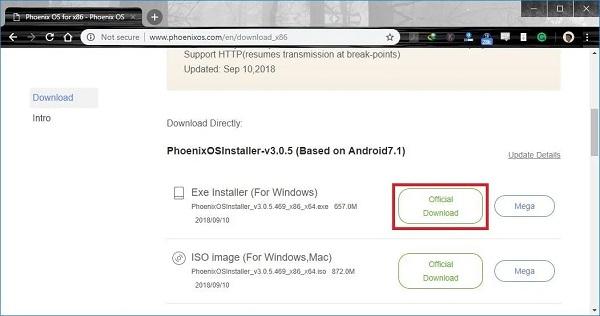 دانلود واتس آپ برای کامپیوتر بدون نیاز به گوشی ویندوز 10 با Phoenix Operating System