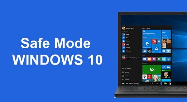 تعمیر فایل های سیستمی ویندوز 10 از طریق Safe Mod
