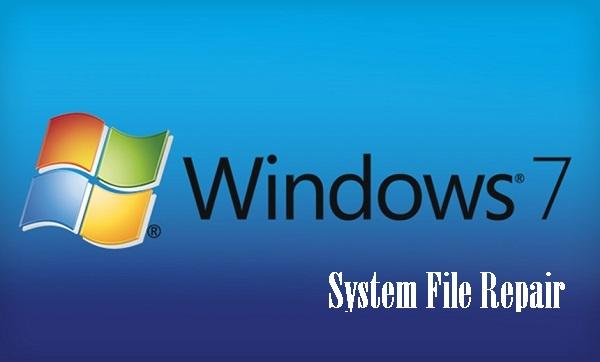 تعمیر فایل های سیستمی ویندوز 7