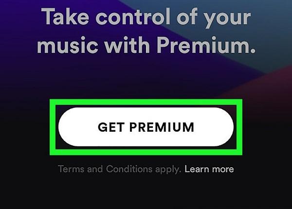 آموزش دانلود از Spotify اندروید