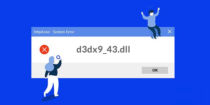 حل مشکل ارور d3dx9_43.dll و d3dx9_39.dll بازی ها