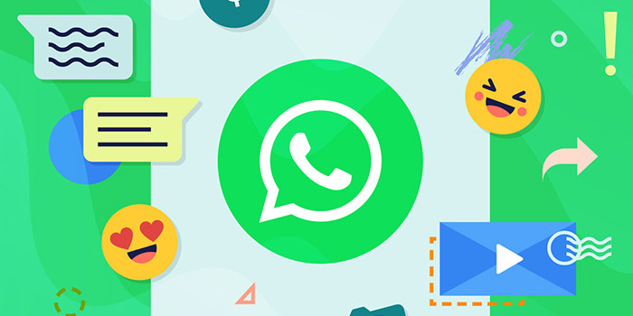 ارسال پیام به خود برای ذخیره سازی در واتساپ