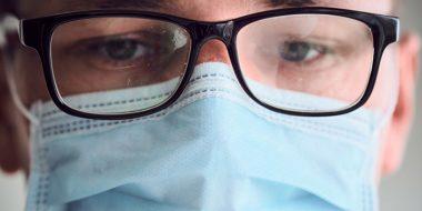 جلوگیری بخار کردن شیشه عینک در هنگام ماسک زدن