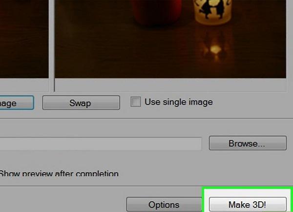 آموزش ساخت عکس سه بعدی 3d با برنامه عکس سه بعدی ساز