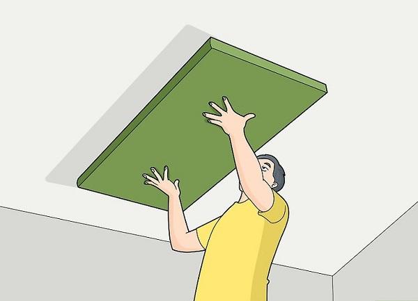 علت صدا دادن سقف خانه
