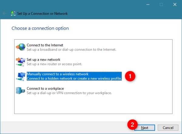 چگونه به وای فای مخفی شده وصل شویم؟ اتصال به وای فای مخفی در ویندوز 7 و.. از طریق کنترل پنل