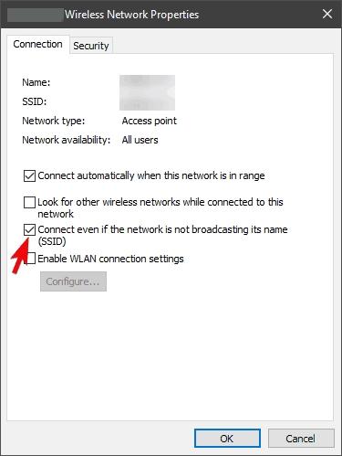 روش رفع مشکل اتصال به وای فای هیدن