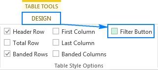 مرتب سازی جدول و فیلتر سازی کلمات