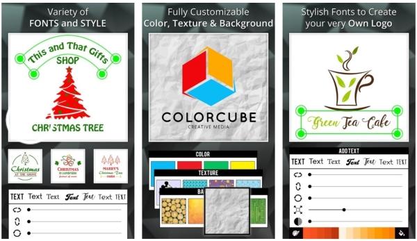 بهترین برنامه طراحی لوگو اندروید Iris Logo Maker