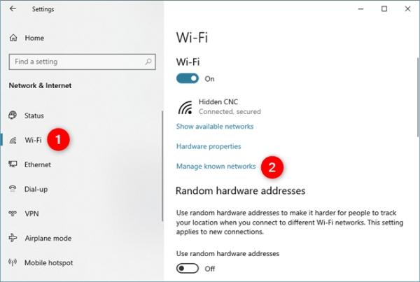 روش اتصال به وای فای مخفی در لپ تاپ (چطور به وای فای مخفی وصل شویم)