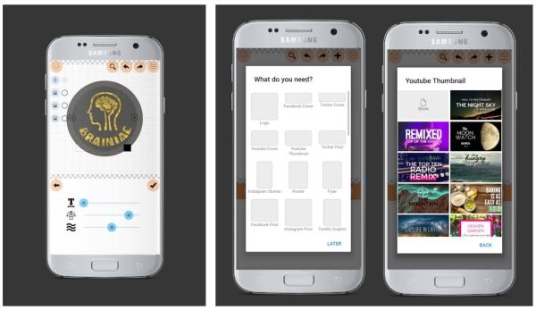 برنامه برای ساخت لوگو اندروید Logo Maker Plus