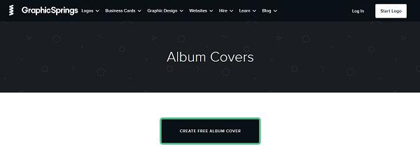 ساخت کاور انلاین در GraphicSprings