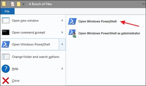 انتقال فایل ویندوز
