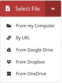 تبدیل فرمت webm به mp4 آنلاین و تبدیل دیگر فرمتها با cloudconvert.com