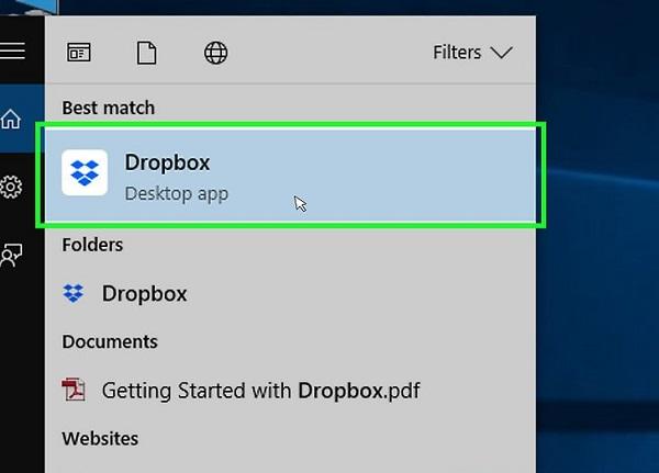 آموزش نصب dropbox برای کامپیوتر