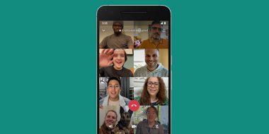 تماس تصویری و صوتی گروهی در واتساپ