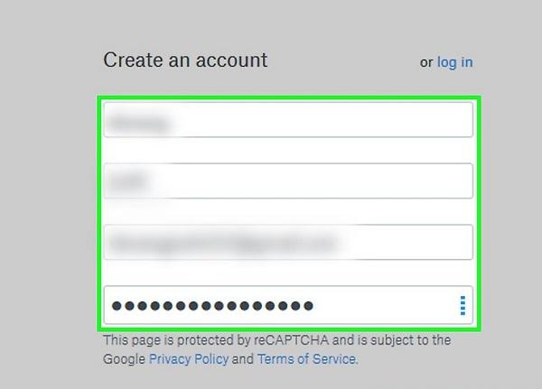 نحوه ثبت نام در دراپ باکس
