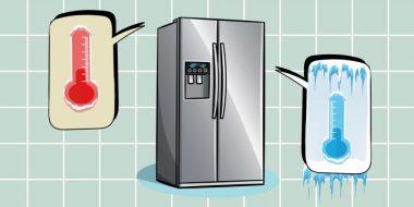 راهنما تنظیم درجه یخچال در فصل های مختلف سال