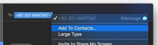 آموزش بلاک اس ام اس در آیفون با سیستم عامل مک