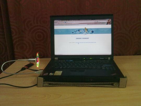 آموزش ساخت خنک کننده لپ تاپ بدون فن