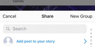 حل مشکل استوری نشدن پست در اینستاگرام