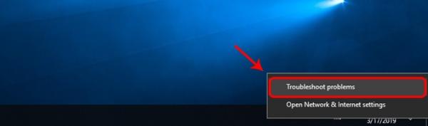 رفع مشکل وصل نشدن اینترنت در ویندوز 10 ، 7 و 8 با استفاده از Troubleshooter