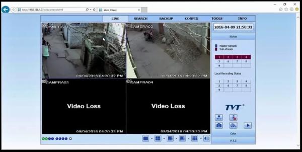 تنظیم مودم برای انتقال تصویر دوربین مداربسته روی موبایل اندروید