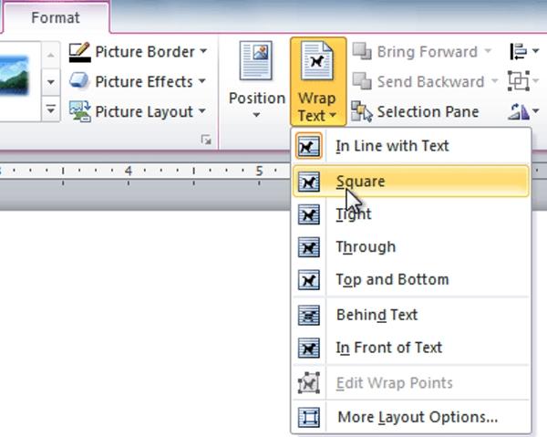 تنظیمات عکس در ورد، نمایش متن روی عکس (تایپ روی عکس در ورد)