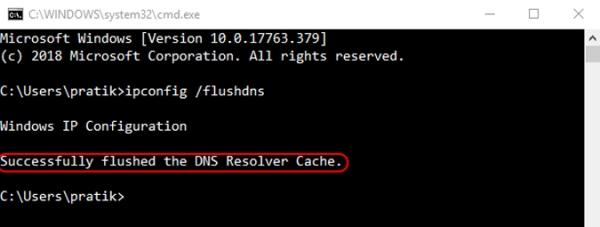 فلش کردن DNS برای حل مشکل عدم اتصال کامپیوتر به اینترنت با وجود اتصال وای فای