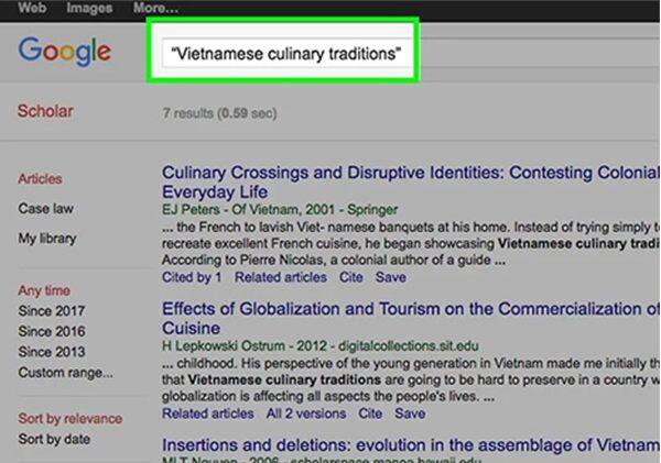 آموزش جستجوی علمی با google scholar