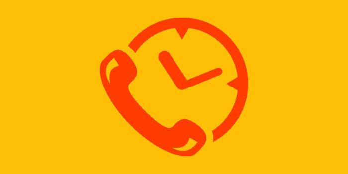 زمان بندی تماس گوشی اندروید