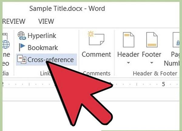 آموزش bookmark در ورد (لینک دادن به یک بوک مارک خاص)