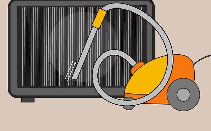 تمیز کردن فیلتر کولر گازی