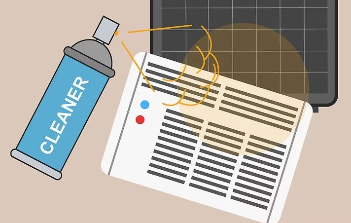 روش تمیز کردن کولر گازی