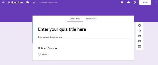 چگونه در گوگل فرم آزمون بسازیم؟