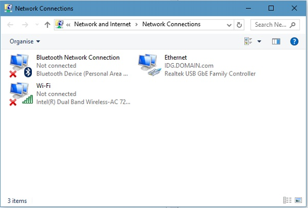 حل مشکل وصل نشدن اینترنت در ویندوز 7