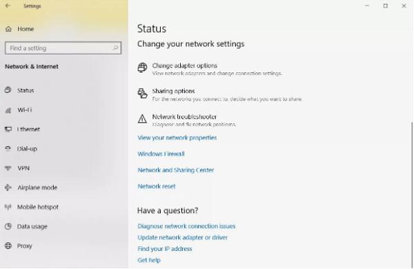 نحوه بازگردانی تنظیمات شبکه در ویندوز 10 ، 8.1 و 7
