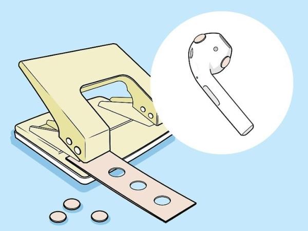 چرا هندزفری از گوش می افتد؟ جلوگیری از آن با کمک چسب
