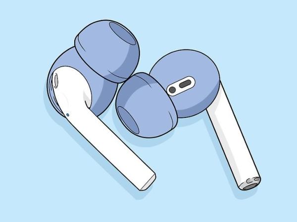 رفع مشکل افتادن هندزفری از گوش با استفاده از توگوشی سیلیکون