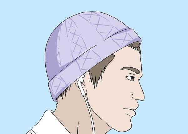 استفاده از کلاه و.. برای جلوگیری از افتادن هدفون