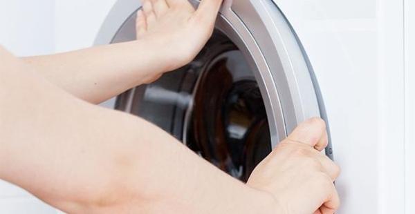 بسته نشدن در ماشین لباسشویی