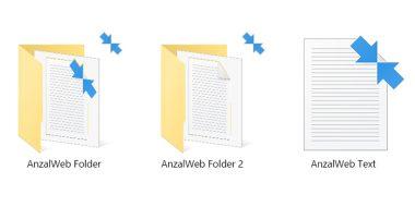 معنی دو فلش آبی روی آیکون ها فایل و پوشه ها در ویندوز چیست؟ نحوه رفع آن