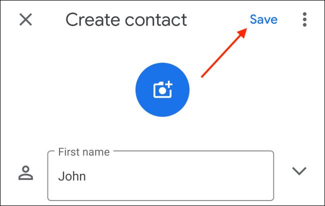 اضافه کردن مخاطب واتس اپ (اندروید)