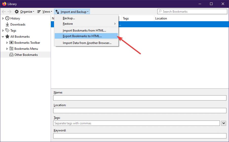انتقال پسوردهای فایرفاکس به کروم