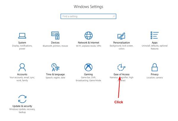 تغییر تنظیمات کیبورد در ویندوز 10 برای حل مشکل کیبورد ویندوز 10