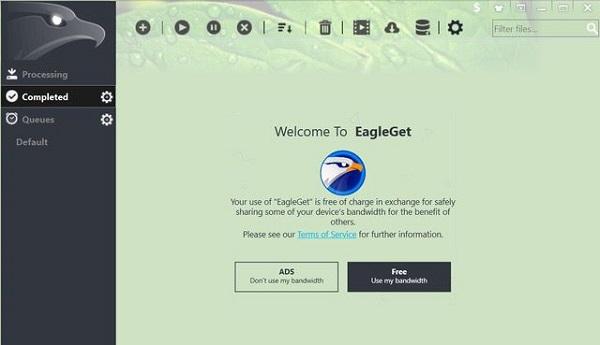 EagleGet بهترین دانلود منیجر رایگان برای کامپیوتر